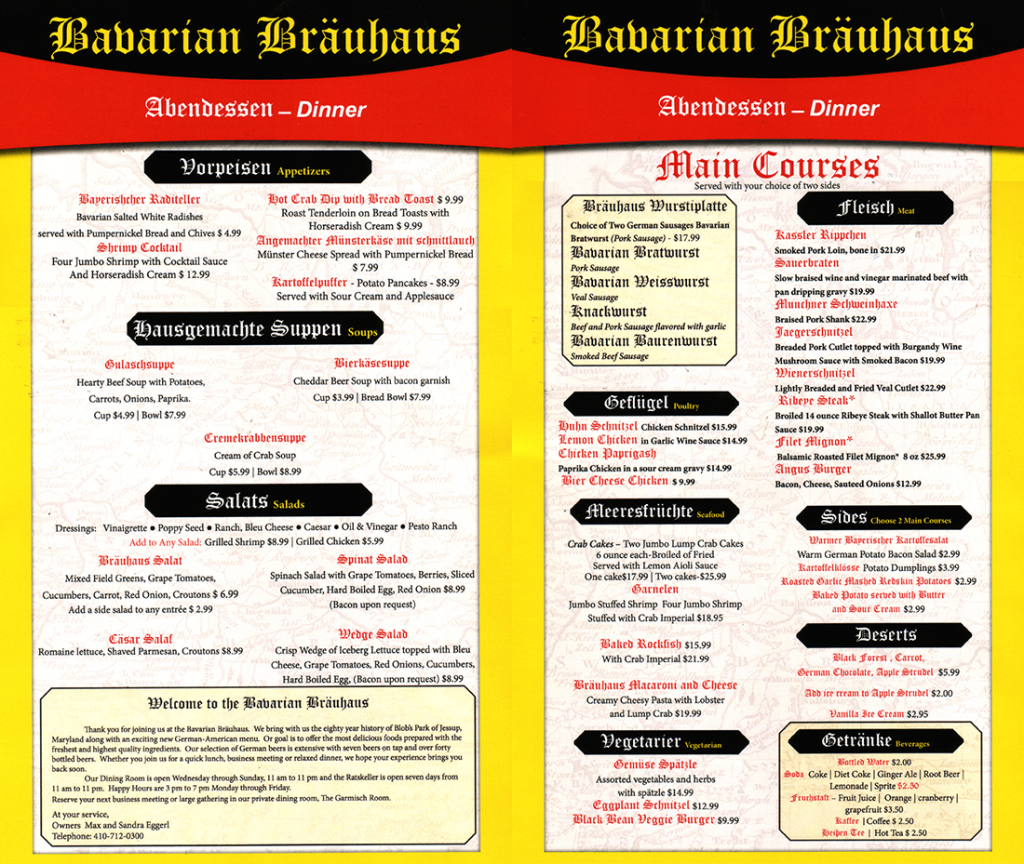 BAVARIAN_BRAUHAUS_Dinner-Menu